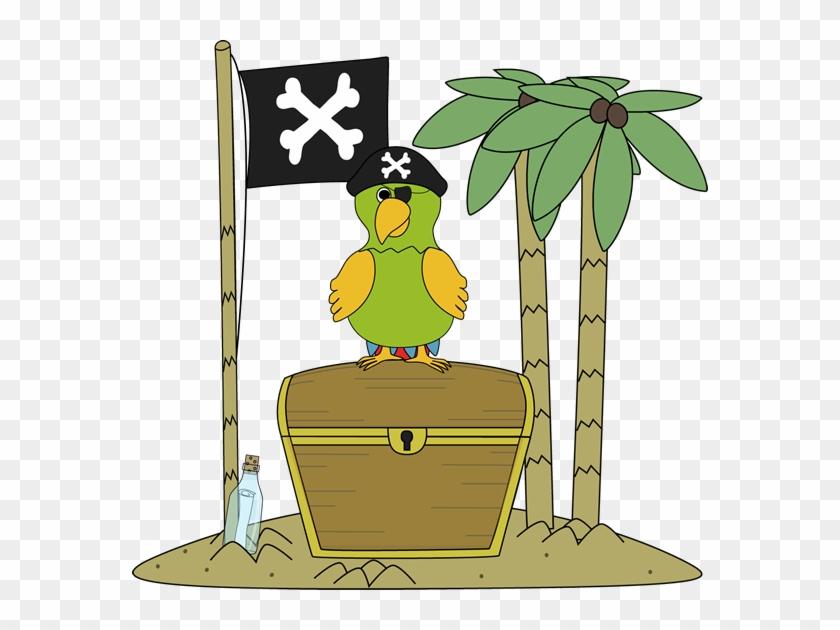 Pirate Clipart Pirate Flag - Free Treasure Island Clip Art #276275