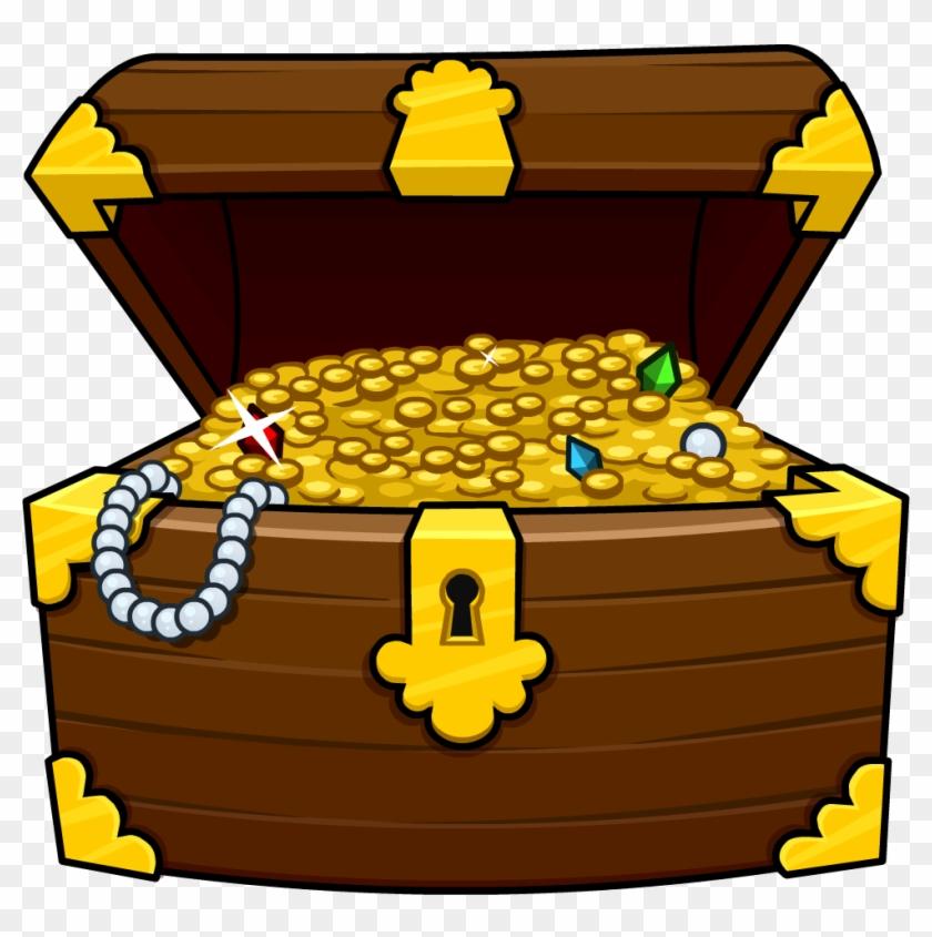 Treasure Chest Clipart #276276