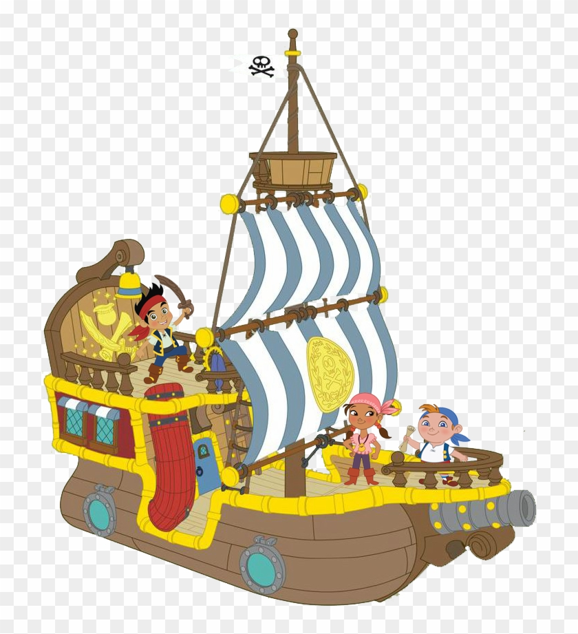 Jake Pirate Ship Clipart