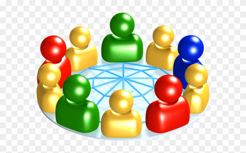 Think About What You're Hoping To Get Out Of The Conference - Social Network Clipart Png #276303