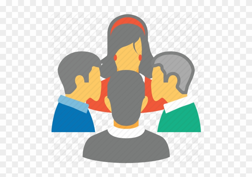 Other Meeting Icon Flat Images - Group Of People Flat Icon #276304