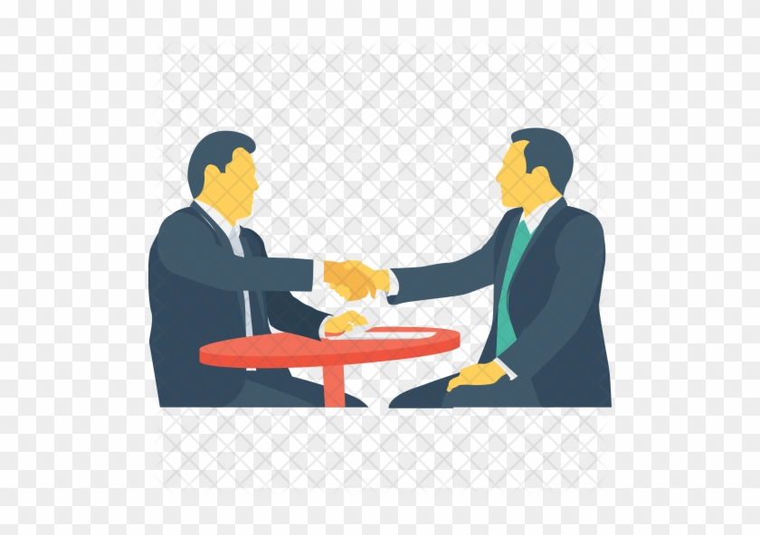 Interview Icon - Meeting Png #276312