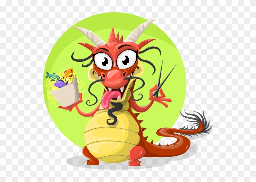 Chinese Dragon Clipart Cute - Cute Chinese Dragon Cartoon #276438