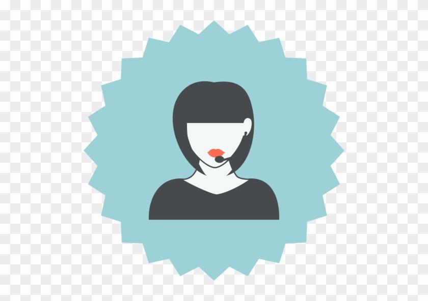 Clipart Consultant Png Icon - Customer Service Icon Female #276694