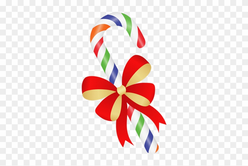 004 - Christmas Candy Cane Clipart #276703