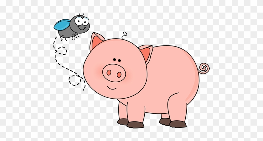 Winter Clipart Pig - Farm Animal Clipart Pig #276706