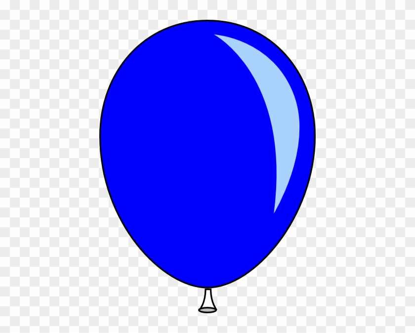 Single Balloon Clipart #276769
