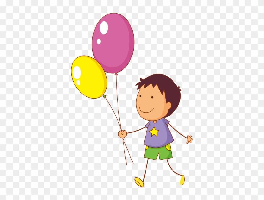 Elinde Balon Olan Tel Cocuk Cartoons Children Free Transparent
