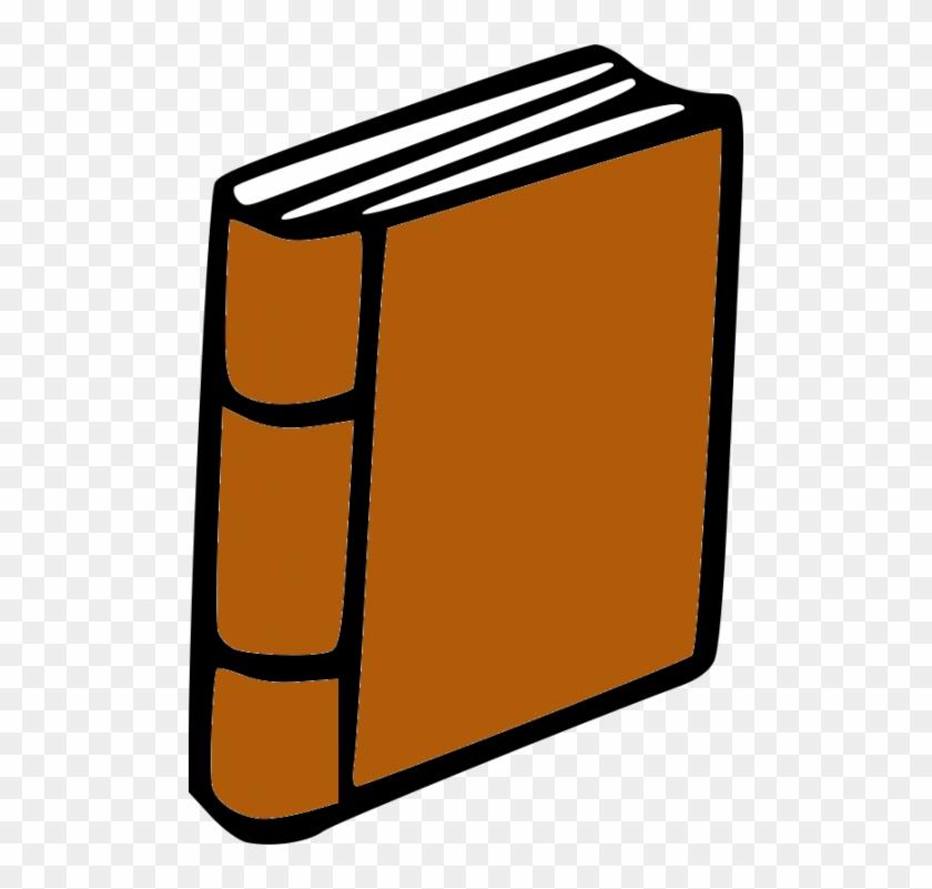 Best Closed Book Clipart - Brown Book Clip Art #276952