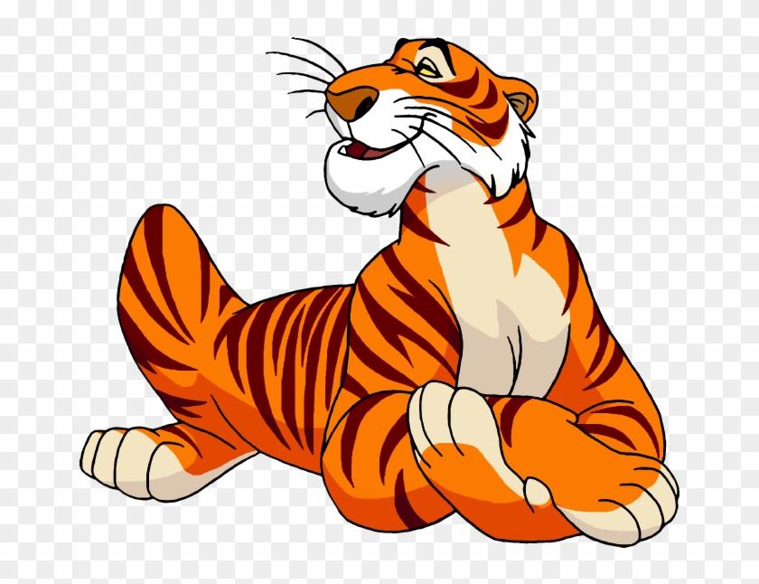 Shere Khan The Jungle Book Bagheera Tiger Cartoon - Jungle Book Shere Khan #277070