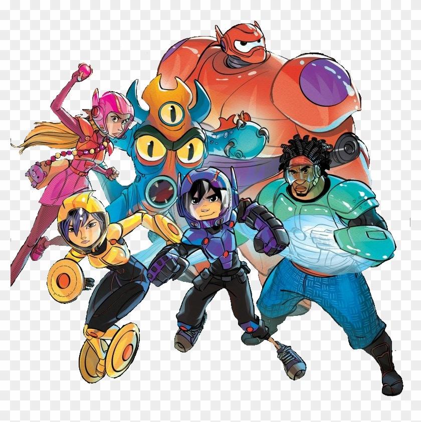 Image Book Cover Big Hero 6 Png Big Hero 6 Wiki Fandom - Big Hero 6 Members #277208