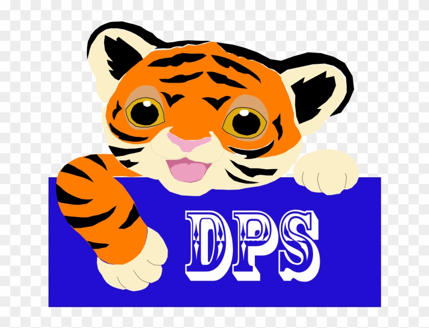 Thank You High School Student, Mandy Laporte For Designing - Tiger Name Tags Clipart #277558