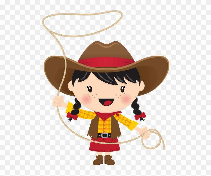 Cowboy E Cowgirl - Cowboy And Cowgirl Clipart #277760