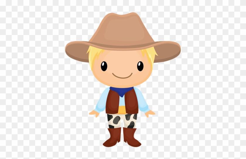 Cowboy E Cowgirl - Dibujo De Cowboy #277761