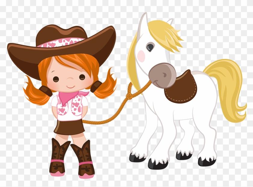 Cowboy E Cowgirl - Cowboy Menina Personalizados #277768