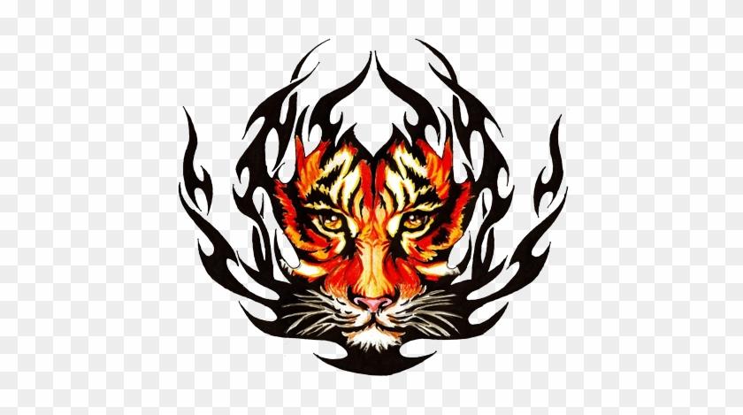 11e598a38 Tribal Tiger Tattoos High Quality - Cb Background Tattoo Hd - Free ...