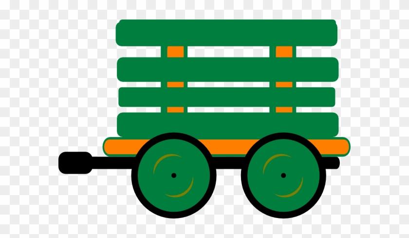 Train Clipart Train Carriage - Train Carriages Clipart #278013
