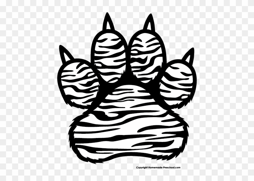 Tiger Paw Print Tiger Paw Print Drawing Free Transparent Png Clipart Images Download This clipart image is transparent backgroud and png format. tiger paw print drawing