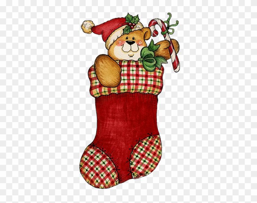 Free Christmas Stocking Clipart - Christmas Stocking Clip Art #278124