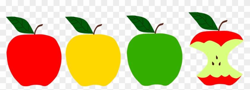 Apples Sunflower Storytime - Red Apple Green Apple Yellow Apple #278220