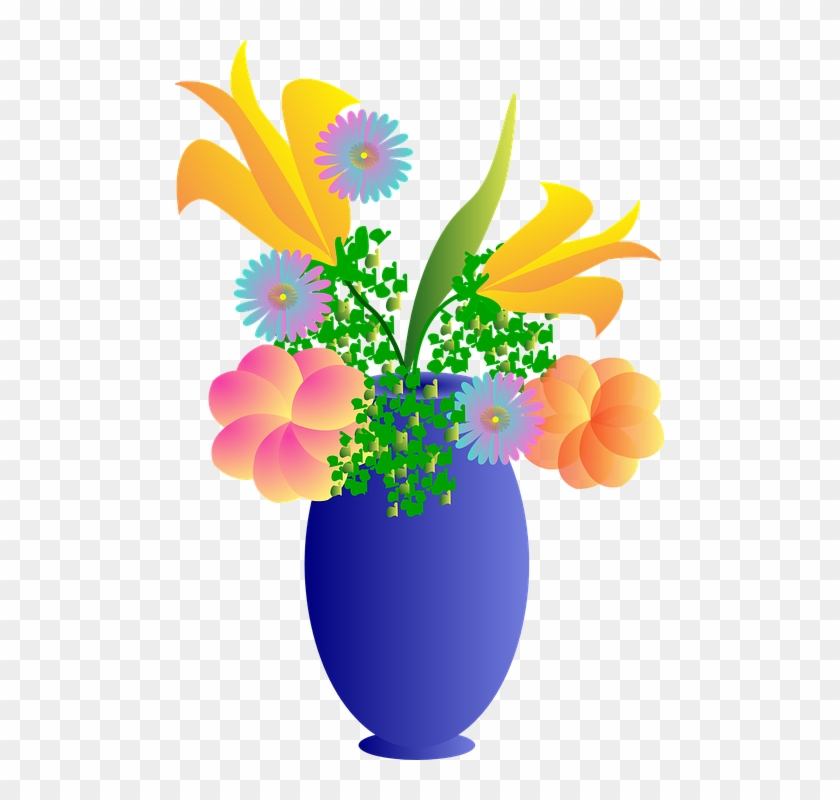 Blue Hibiscus Cliparts 27 Bouquet Of Flowers Clip Art Free