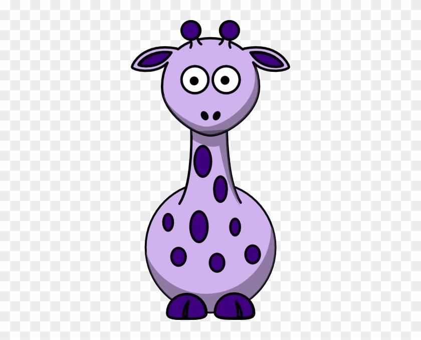 Purple Giraffe With 12 Dots Clip Art At Clker - Edmond Memorial High School #278788