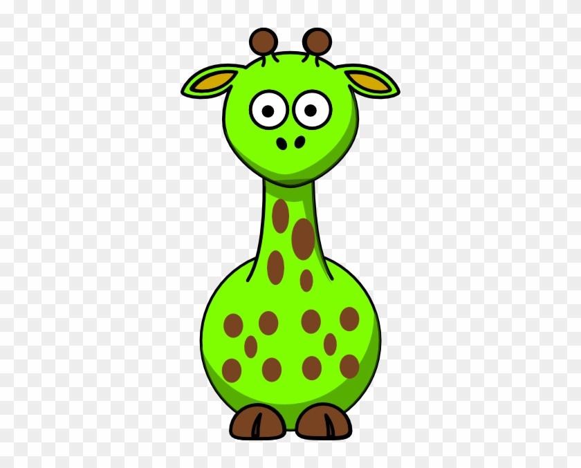 Green Giraffe With 14 Dots Clip Art At Clker - Edmond Memorial High School #278830