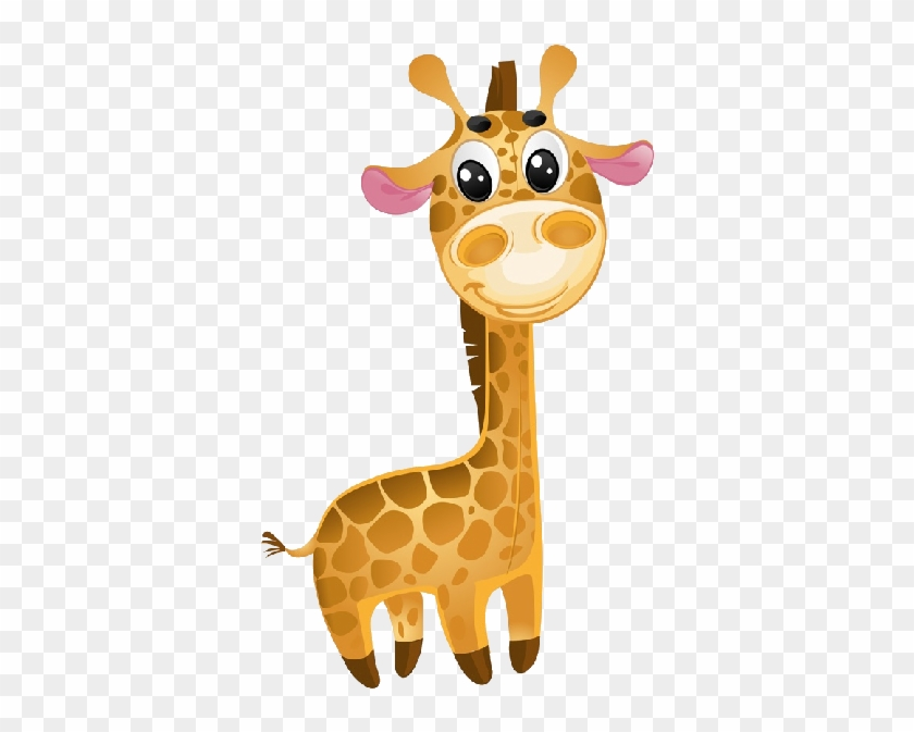 Giraffe Cartoon Animal Images - Cute Giraffe Vector #278835