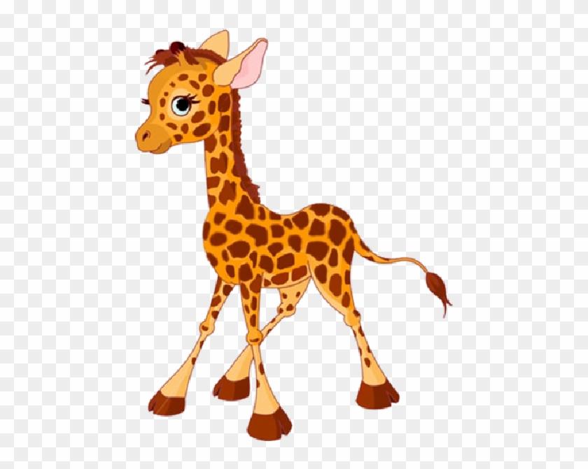 Cartoon Baby Giraffes #278896
