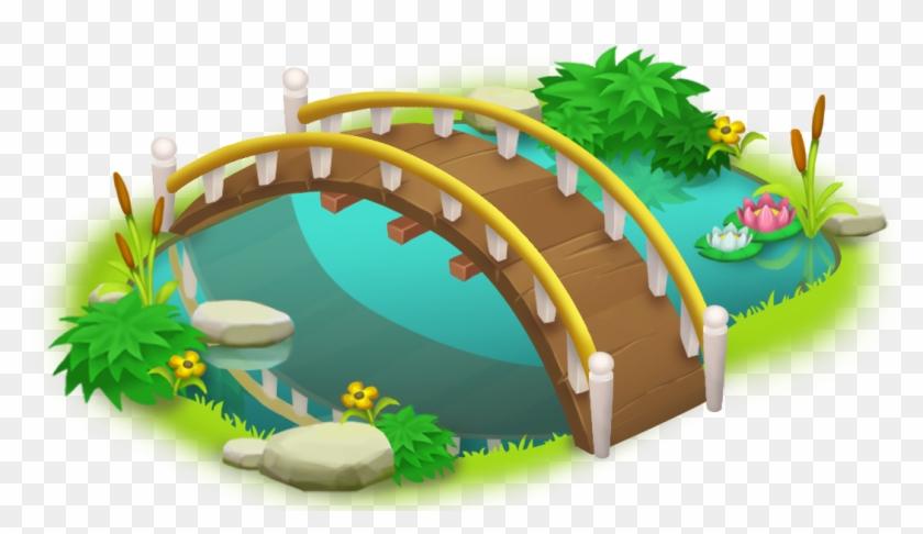 Bridge And Pond Png Clip Art - Bridge Cliparts #279005