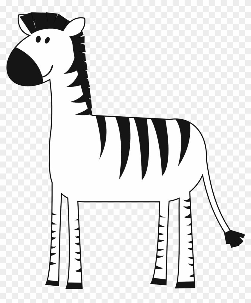 Zebra Desenhos De Animais Selvagens Coloridos Free Transparent