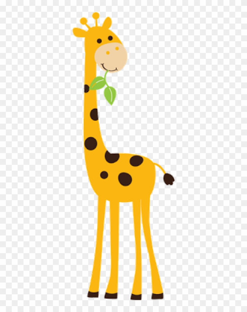 Giraffe Clipart Best Ba Giraffe Clipart 2074 Giraffe - Animals And Tree Wall Sticker #279113