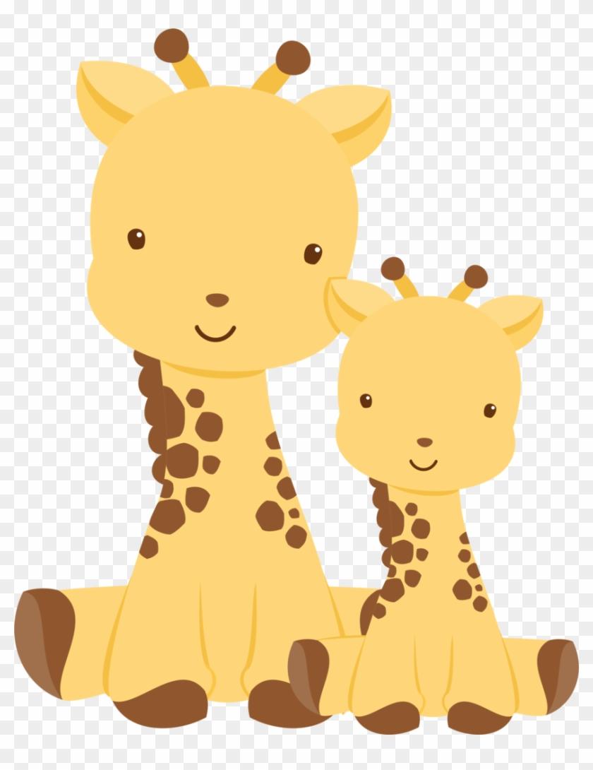 Exibir Todas As Imagens Na Pasta Png - Baby Shower Invites Elephant And Girraffe #279145