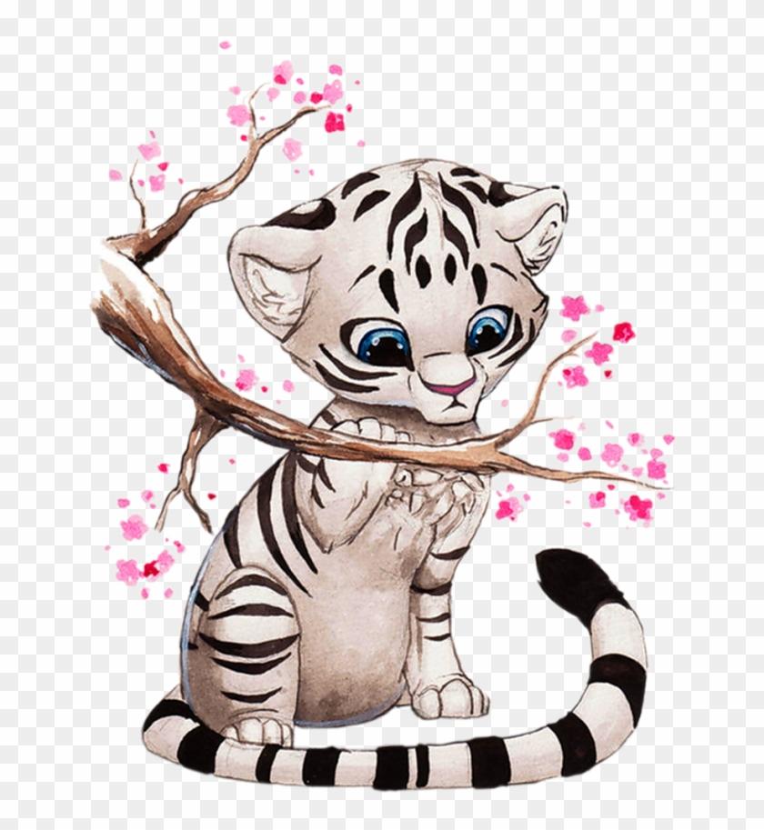Varieté De Láminas Para Decoupage - Anime White Tiger #279200