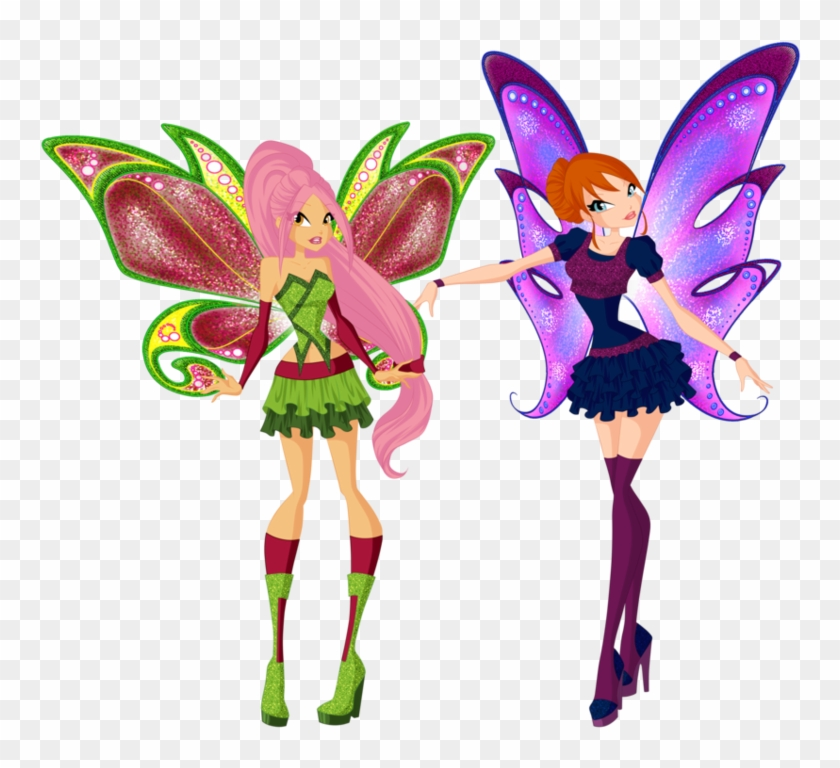 Look At Our New Beautiful Wings By R-scarlett - Fairy #279259