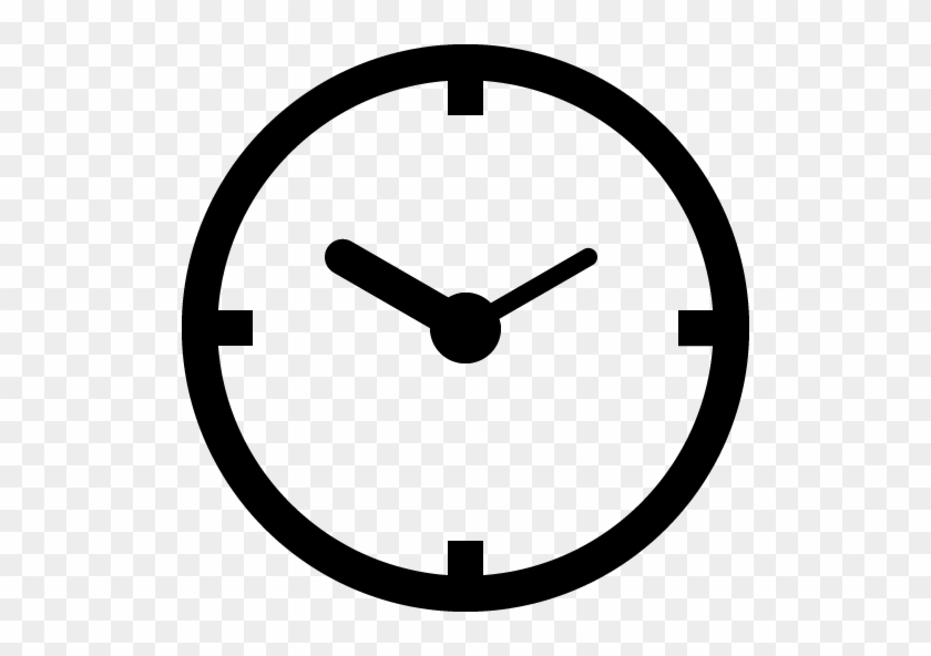 Clock Time 1 Icons - Number 7 In Circle #279424