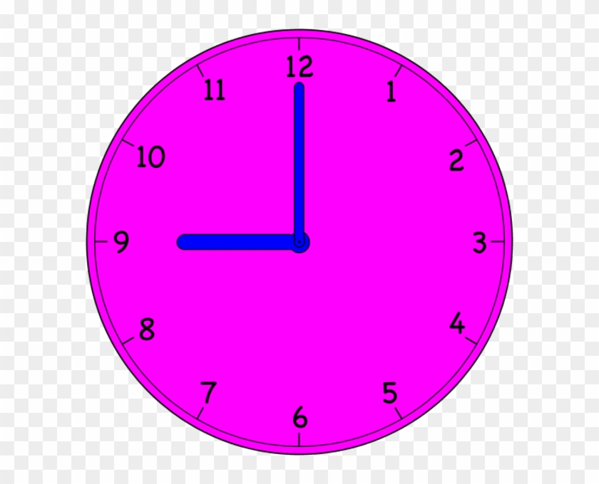 Clock - Analog Clock On The Hour #279474