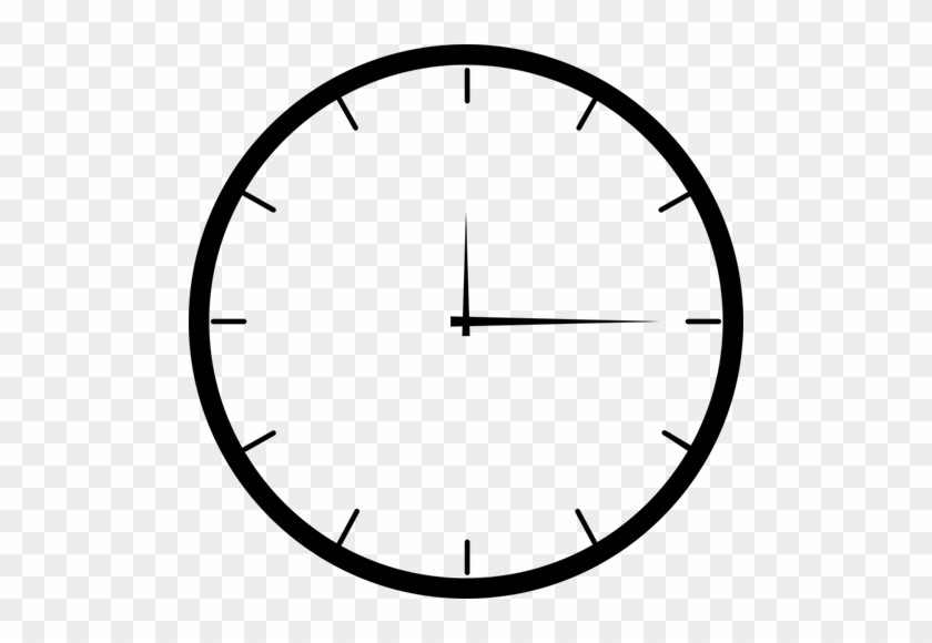 Opening Hours - Analog Clock 9 O Clock - Free Transparent PNG