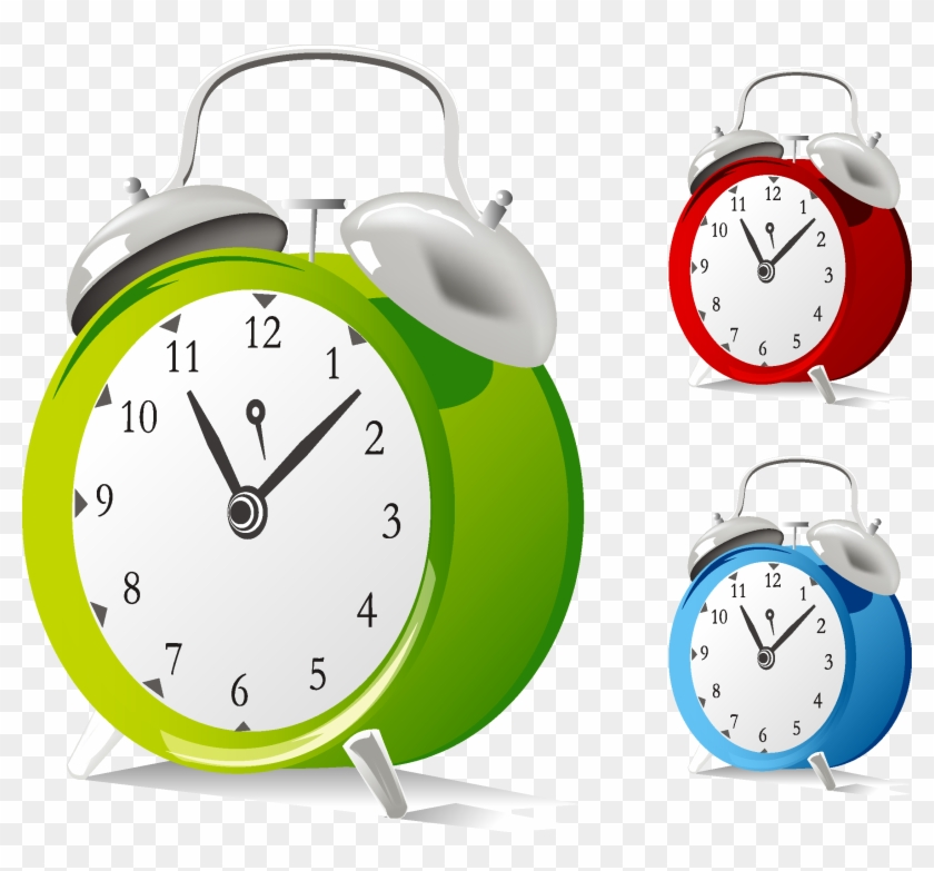 Table Alarm Clock Clip Art - Alarm Clock Free Vector #279657