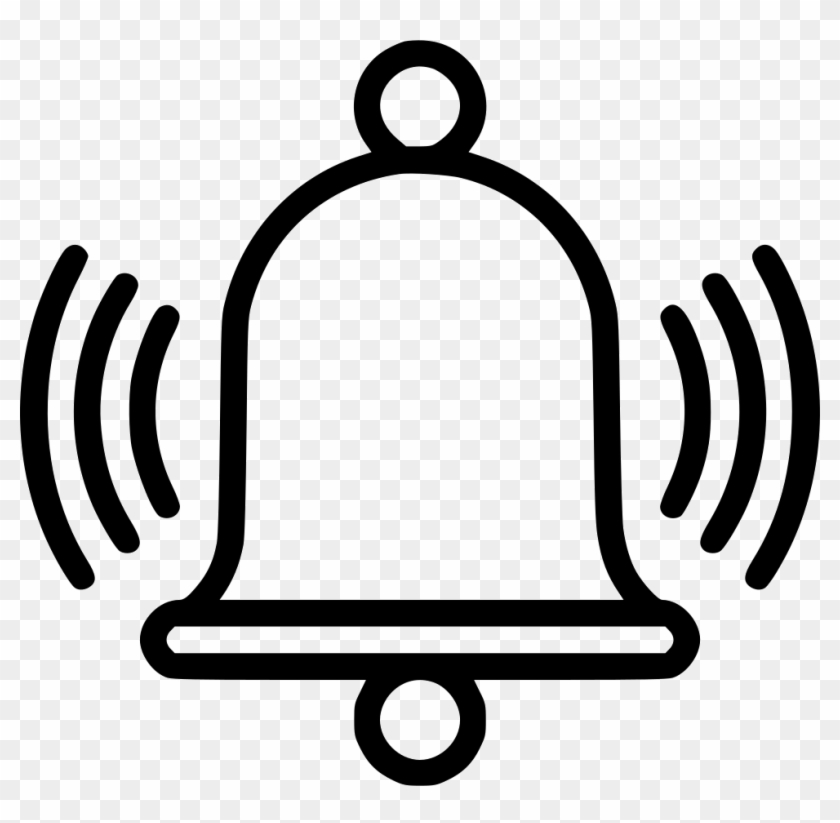 Alarm Bell Clock Ring Timer Stop Watch Clock Comments - Bell Icon Png Download #279722