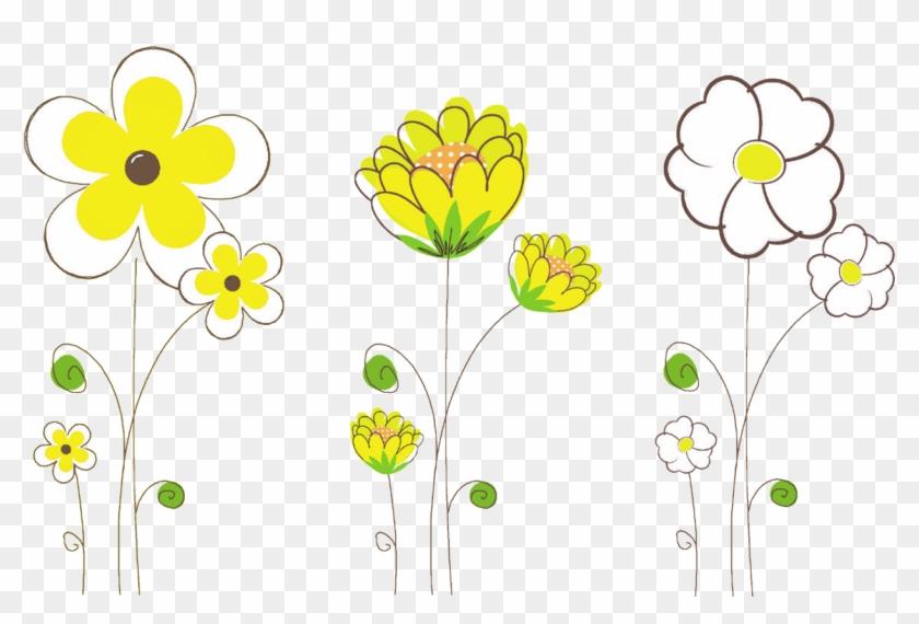 The Best Drawings Of Wild Flowers - Clip Art Spring Flowers Educational #279922