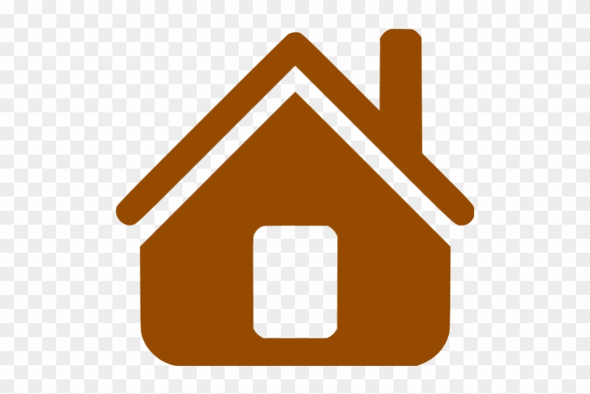 Brown Home Icon With House Icon Png Transparent Background Home