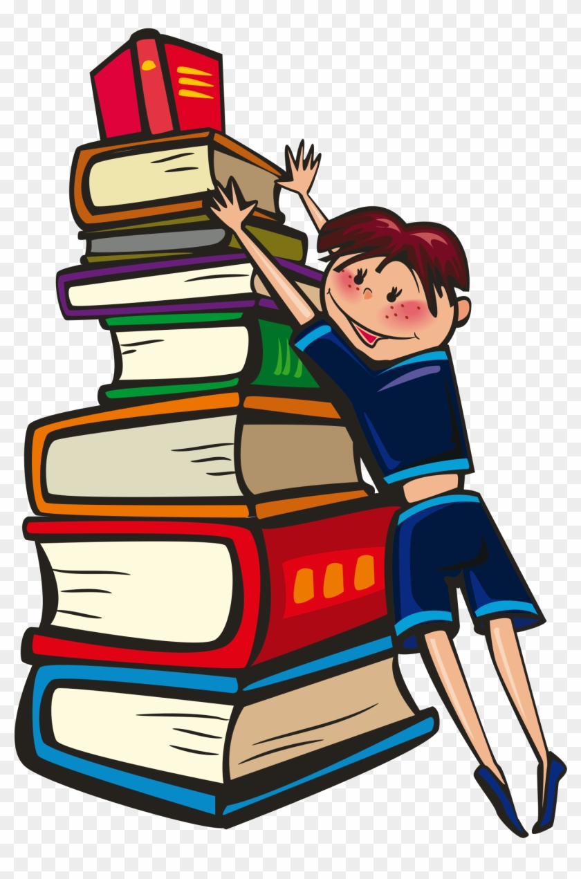 Clipart - Books Are Our Best Friend #280093