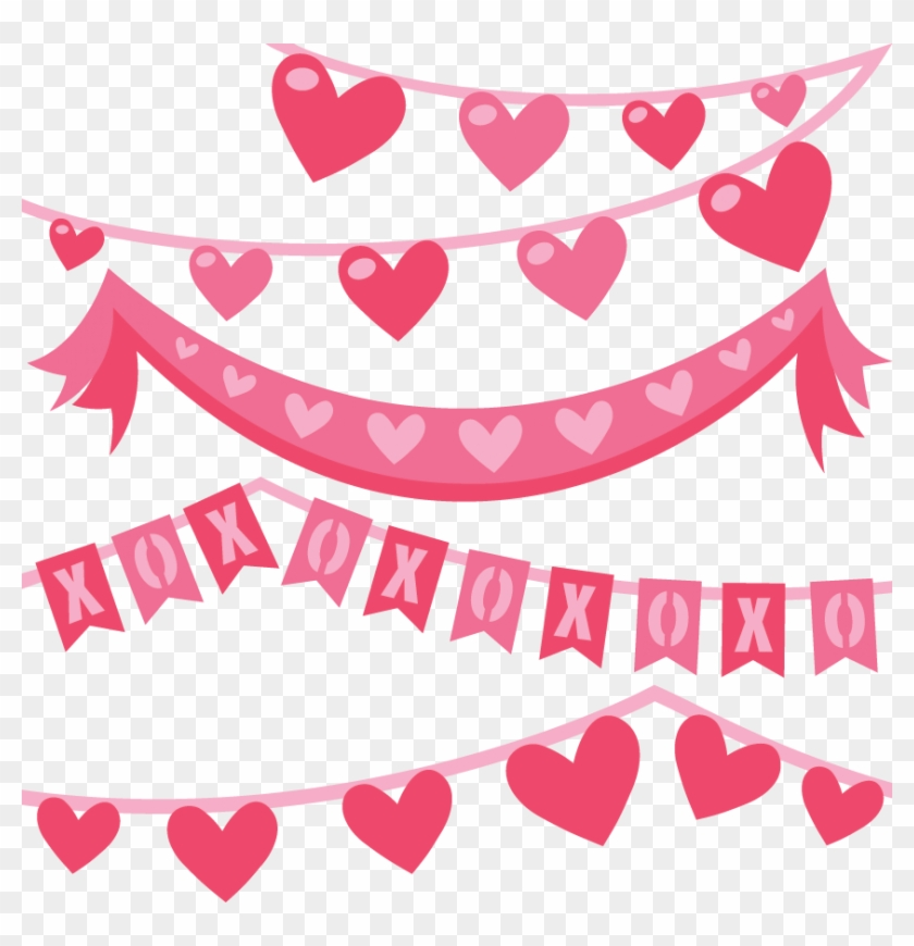 Valentine Svg Files Clipart Valentines Day Banner Clipart Free