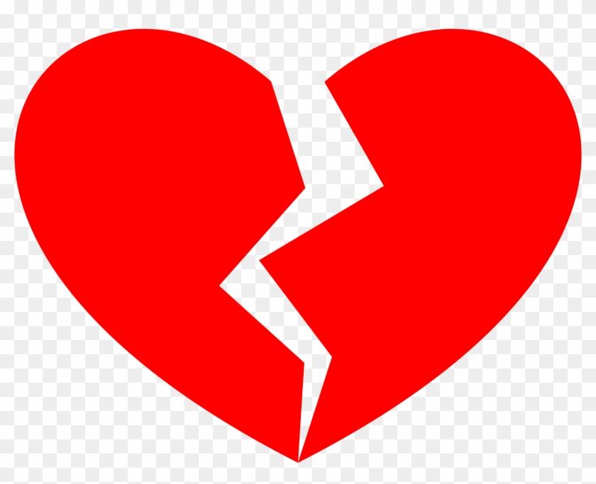 Open - Broken Heart Clipart #280219
