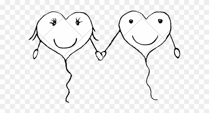 Love Couple Concept Pencil Drawing Sketch Free Transparent Png Clipart Images Download