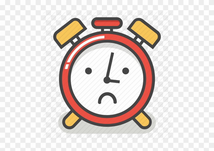 Alarm, Clock, Emoji, Minute, Sad, Time, Upset Icon - Alarm Clock #280404