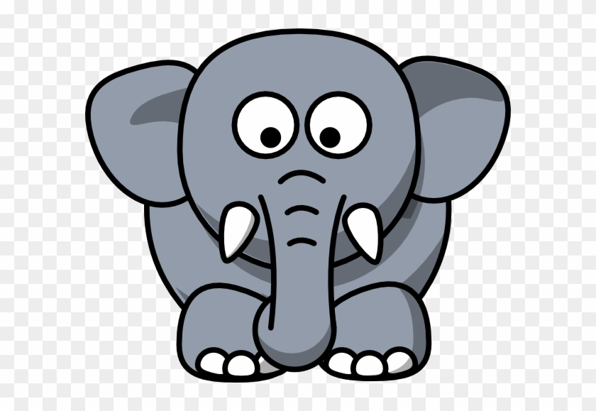Elephant Face Clipart Elephant Drawing Cartoon Free Transparent Png Clipart Images Download