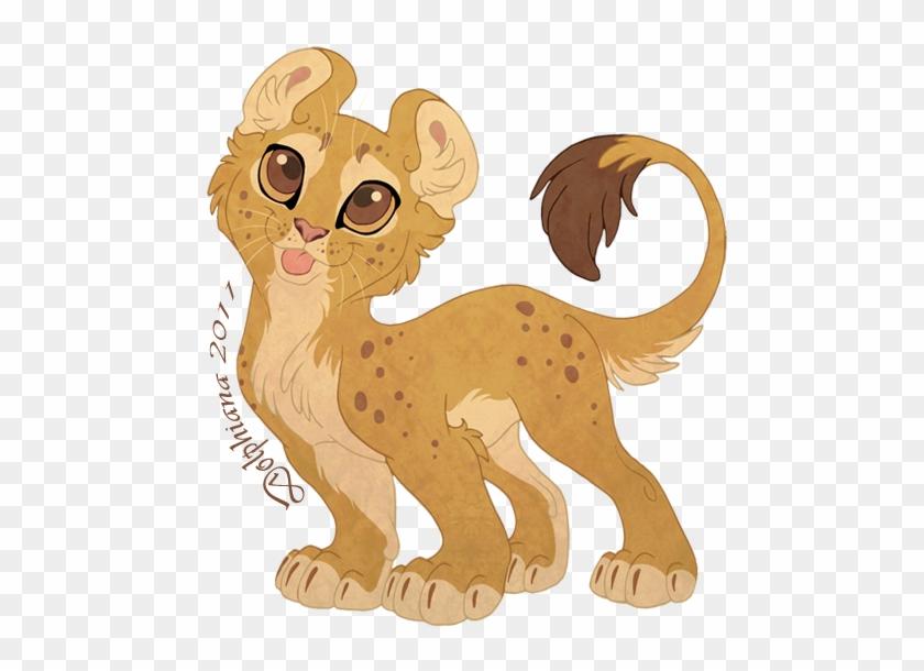 Chibi Lion By Dolphydolphiana