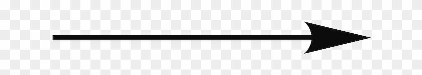 Related Skinny Arrow Clipart - Thin Arrow No Background #280758